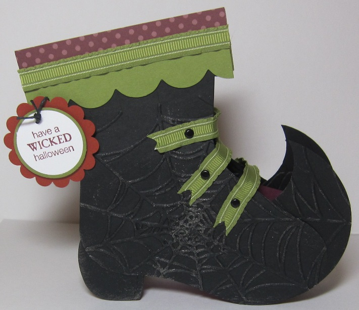 Witch boot - full