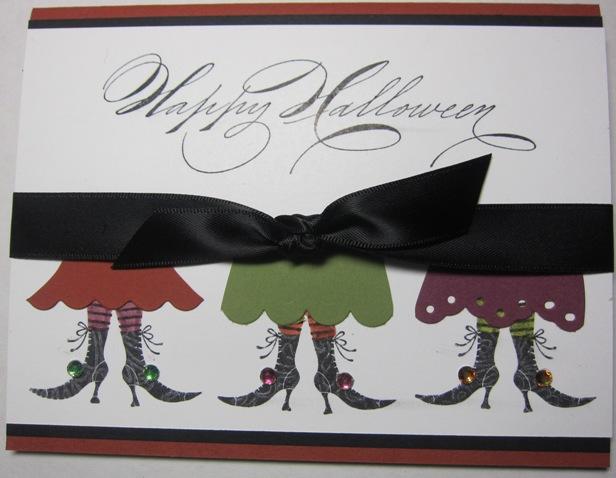 Witch dress card 2