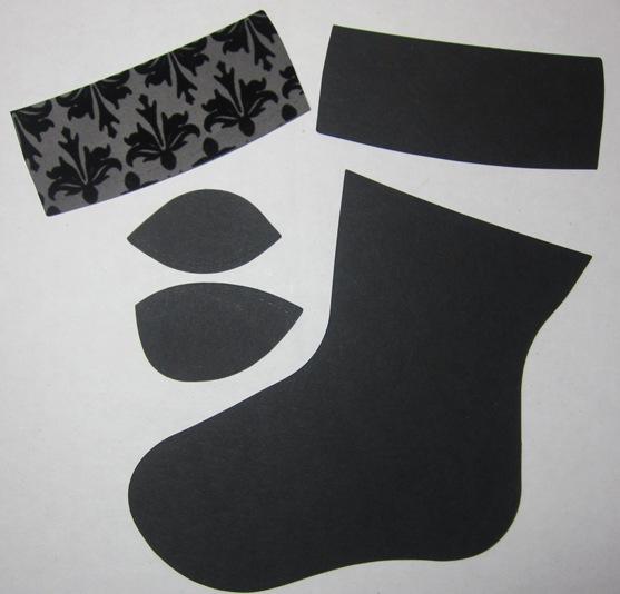 Socks  - black pieces
