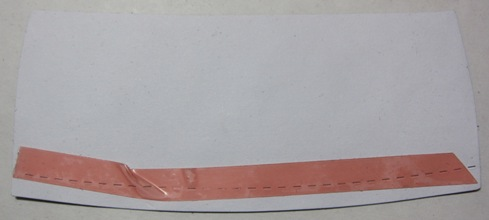 Socks - sticky tape on cuff
