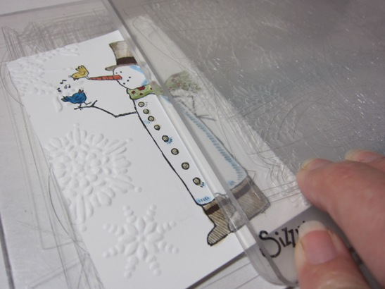 Snow much fun mp embossing 2.5