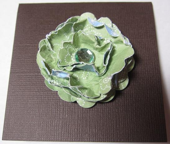 Demo 1 - kari scrunch flower