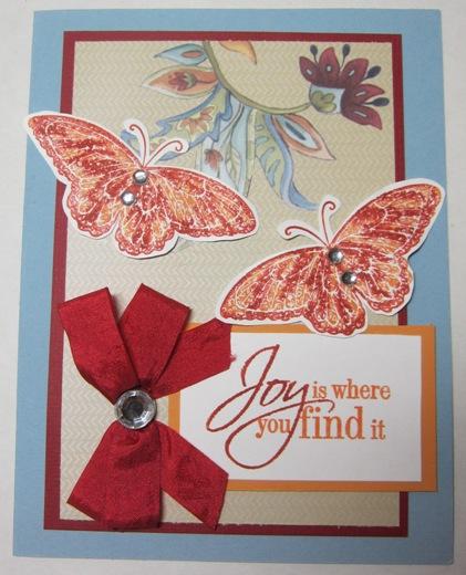 Club - linda paisley butterflies