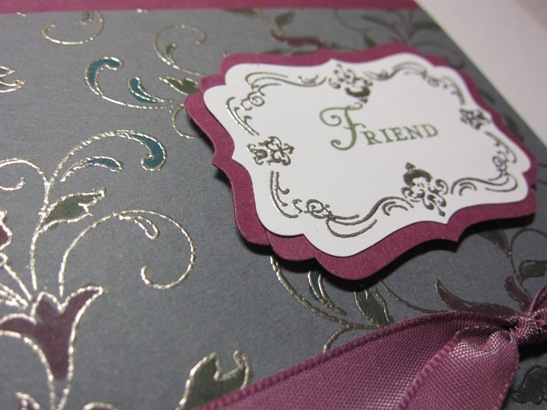 Creative elements colored emboss gray close