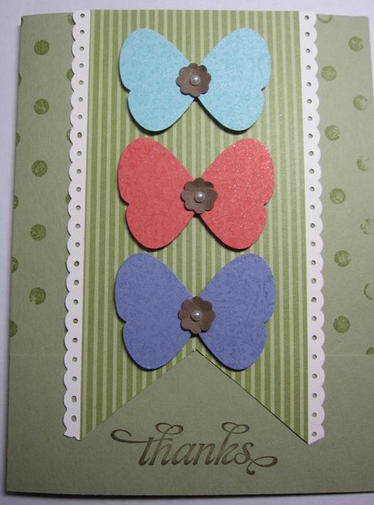 In color butterflies dots