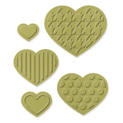 Fashionable hearts 125596L