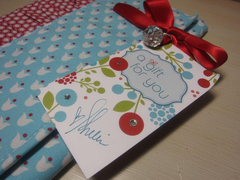 Goodies - gift shelli tag