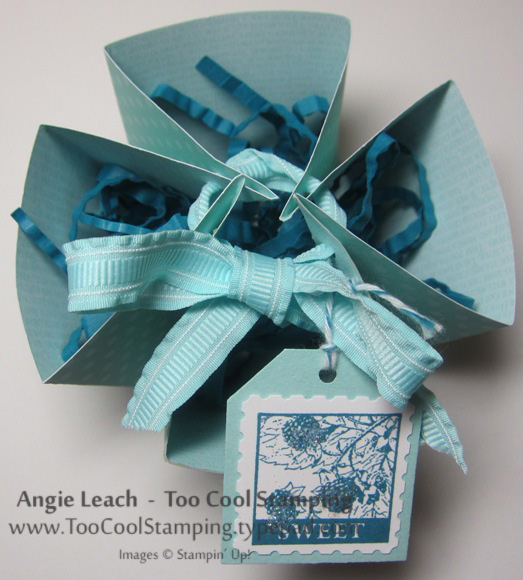 Goodie box with filler