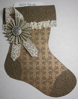 Mocha stocking 2