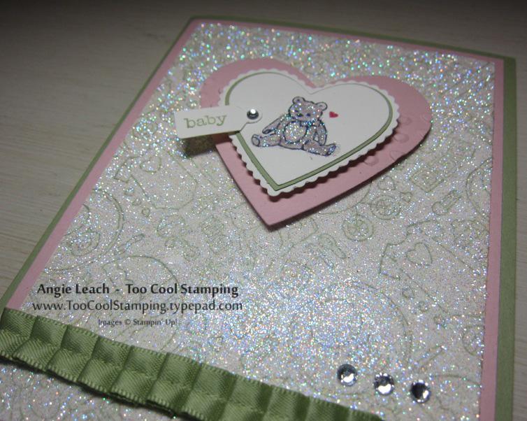 Packed bear heart glitter 3