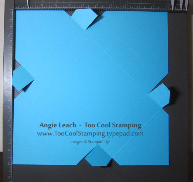 Card box - all scores cuts