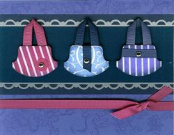 Round tab purses