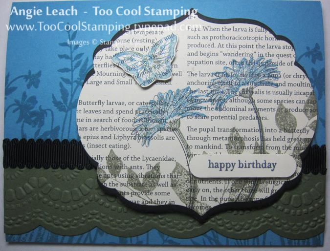 Smile - newsprint birthday