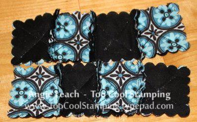 Darla - mini rag bag sewing