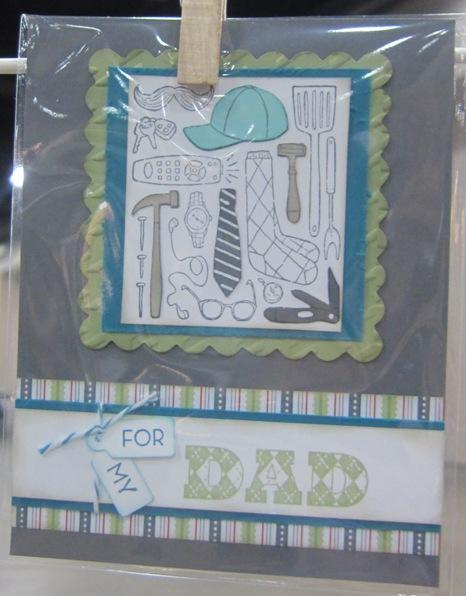 Leadership - packed dad stripes
