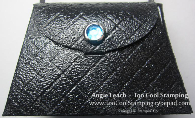 Purse - black patent leather 2