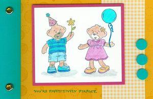 Bear brag book