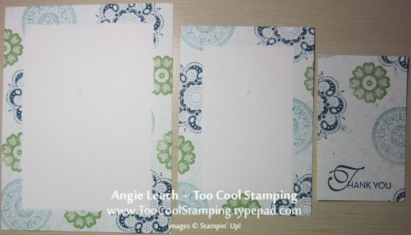 Triple - stamped pieces