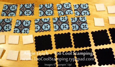 Darla - mini rag bag squares
