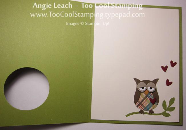 Wood owl - sleepy love open