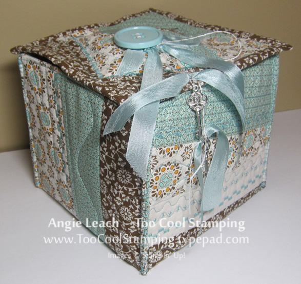 Fabric - too cool box