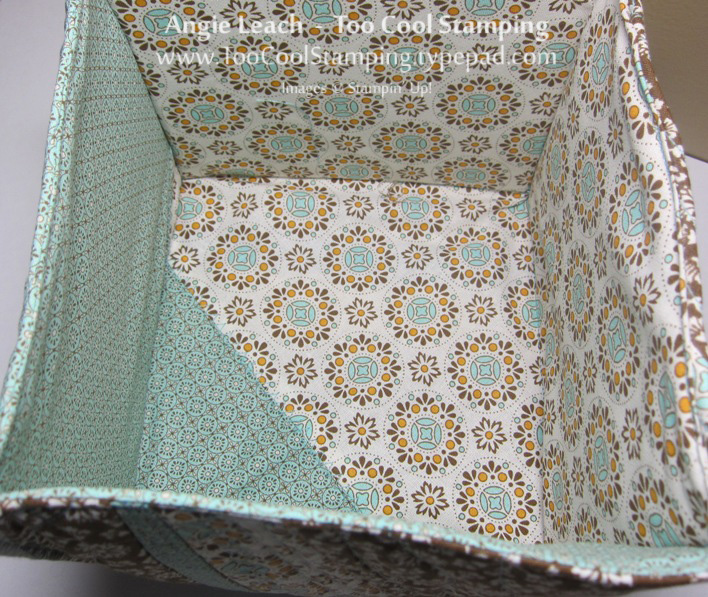 Fabric - box inside