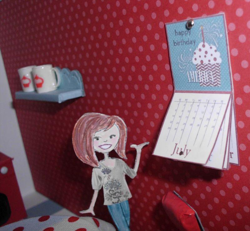 4 dollhouse - kitchen tess calendar