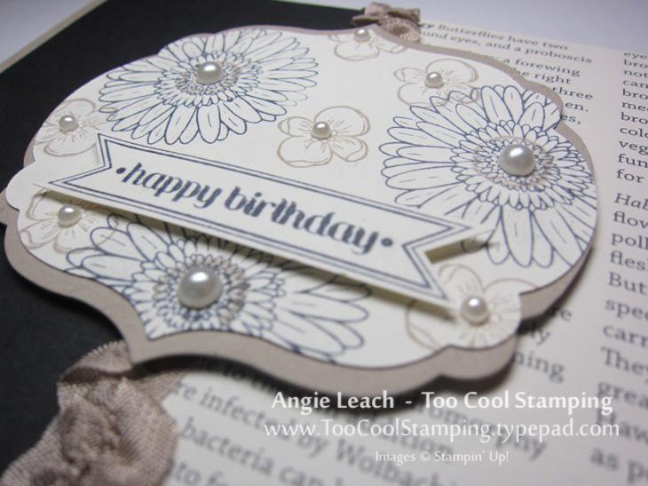 Black crumb - happy birthday 2