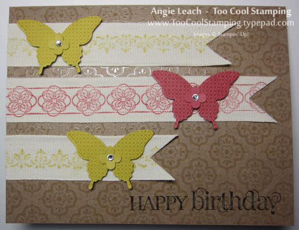 Naturals butterflies - birthday