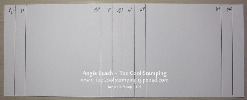 shadow box card template