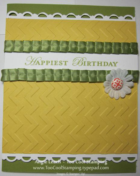 Demo kathe - chevron birthday