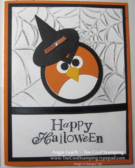 Demo carmen - angry bird halloween