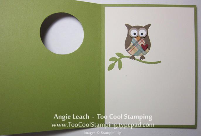Wood owl - birthday open