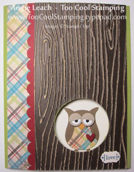 Wood owl - sleepy love