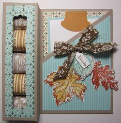Spice cake nugget card