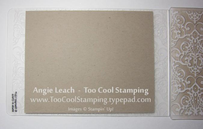 Stamped impressions - cs
