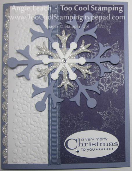 Snowflakes - wisteria 1