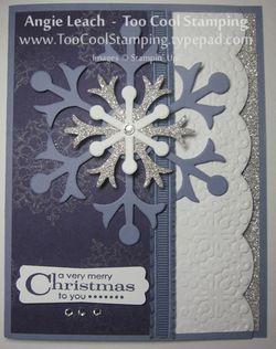 Snowflakes - wisteria 5