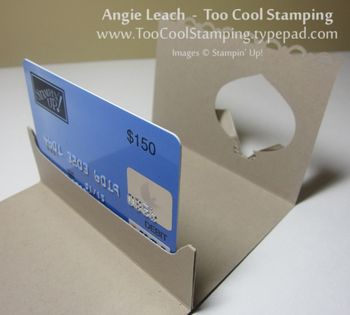 Ornament gc - card stand up