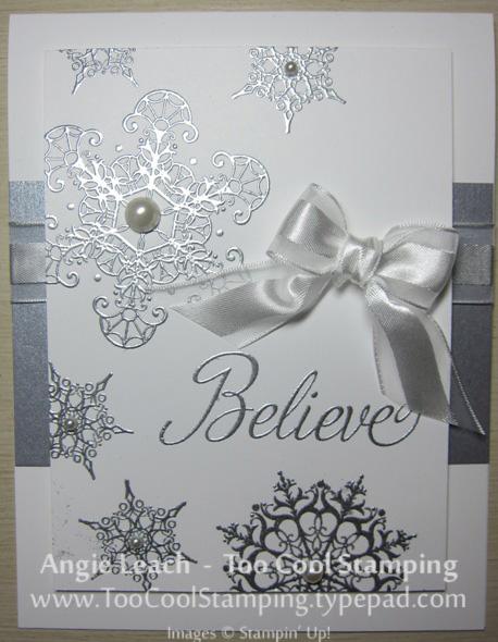 Believe - silver