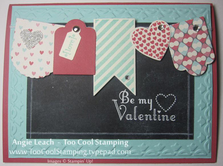Michelle - heart banner chalkboard