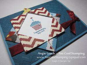 Folded frame - cupcake 2