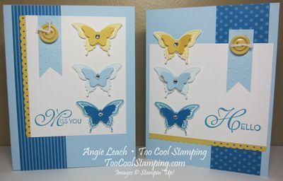 Best butterflies bashful trio - two cool