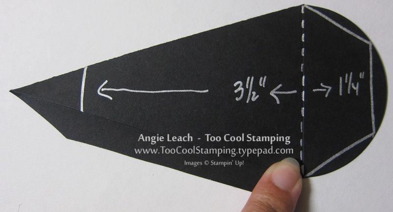 Coffin treat - template
