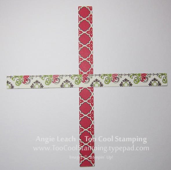 Candlelight ornament - 2 cross