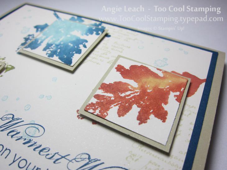 Watercolor leaves trio - straight 2