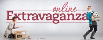 Online extravaganza header