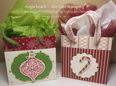 Gift bags - two cool