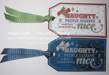 Mds tags - naughty nice two cool