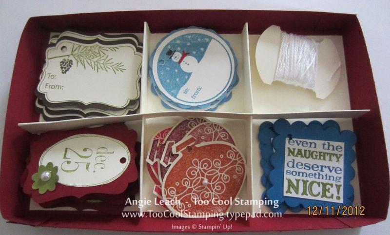 Debbie gift tag box